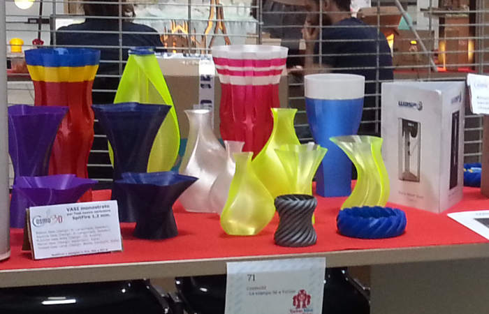 Cosmo3d SpitFire extruder vases